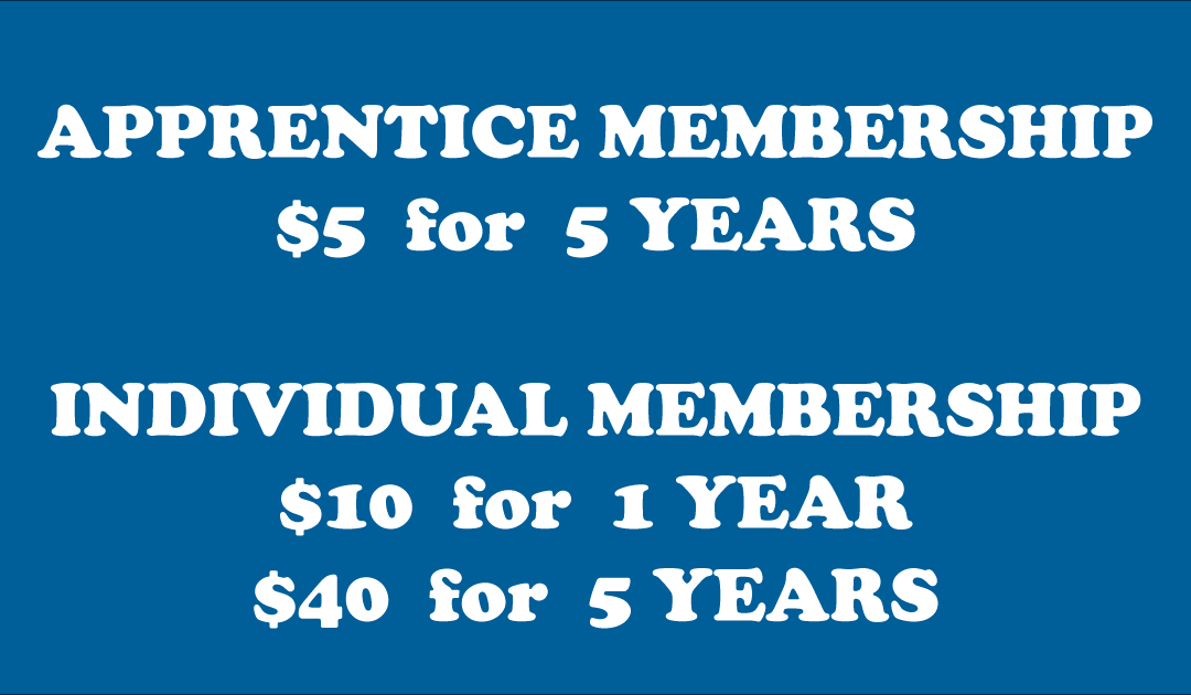 RENEW YOUR MEMBERSHIP FOR 2019-20