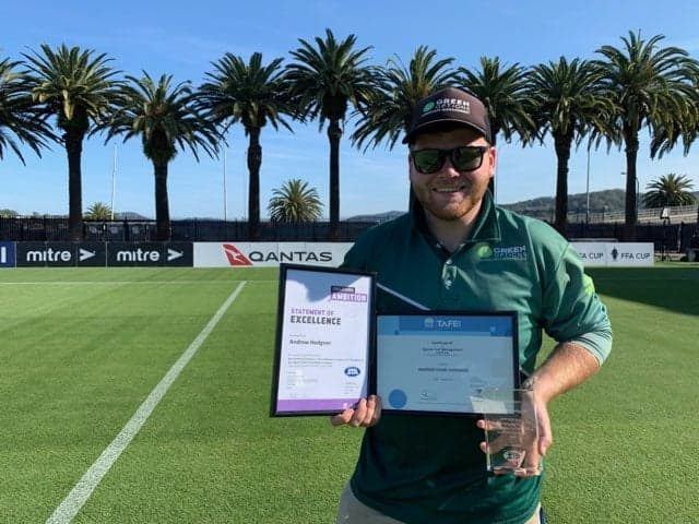 STANSW awards the 2019 Sports Turf Graduate of the Year