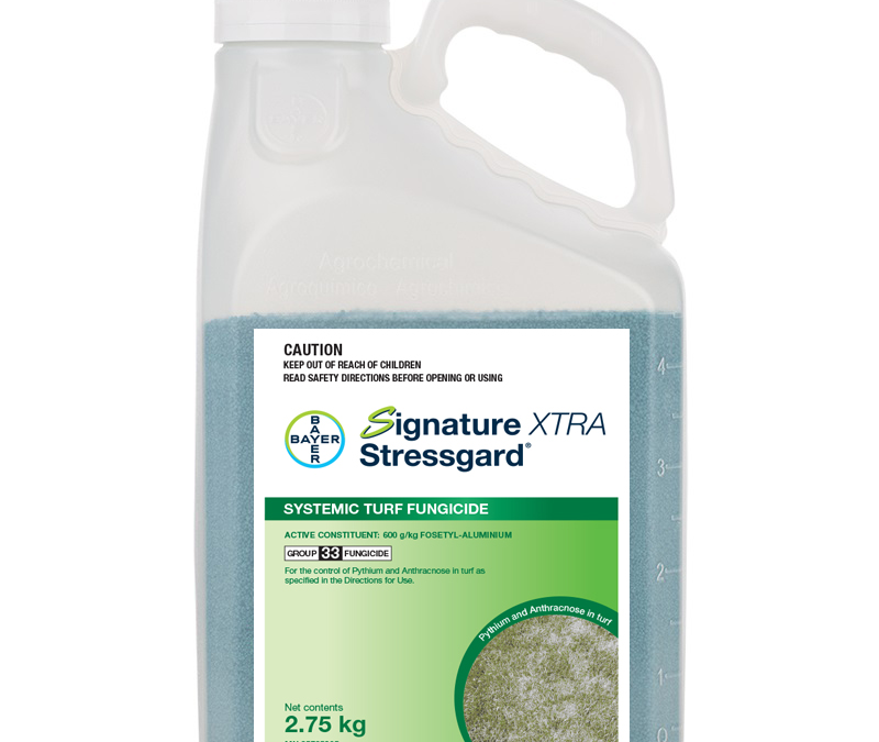 Signature Xtra Stressgard® available late October 2019