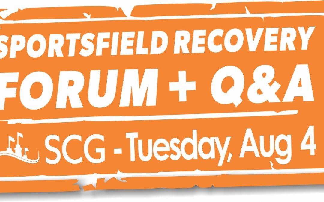Sportsfield Recovery Forum @ SCG