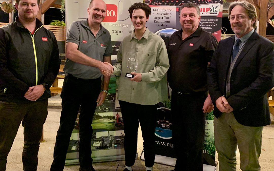 NATIONAL SPORTS TURF GRADUATE OF THE YEAR WINNER ANNOUNCED